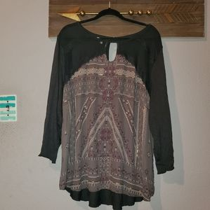 Maurices plus size 4 long sleeve top